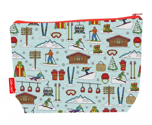 Selina-Jayne Skiing Limited Edition Designer Wash Bag